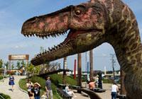dinozaur z dinolandii