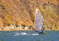 windsurfing na jeziorze bialskim