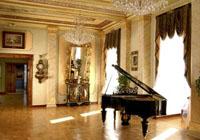 Salon muzyczny z fortepianem